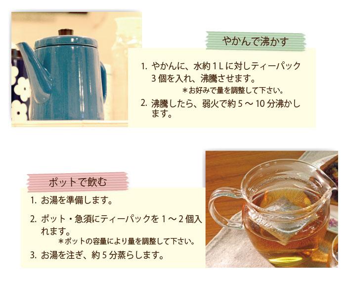 バナバ茶の飲み方
