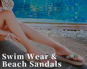 Swim Wear & Bearch Sandals