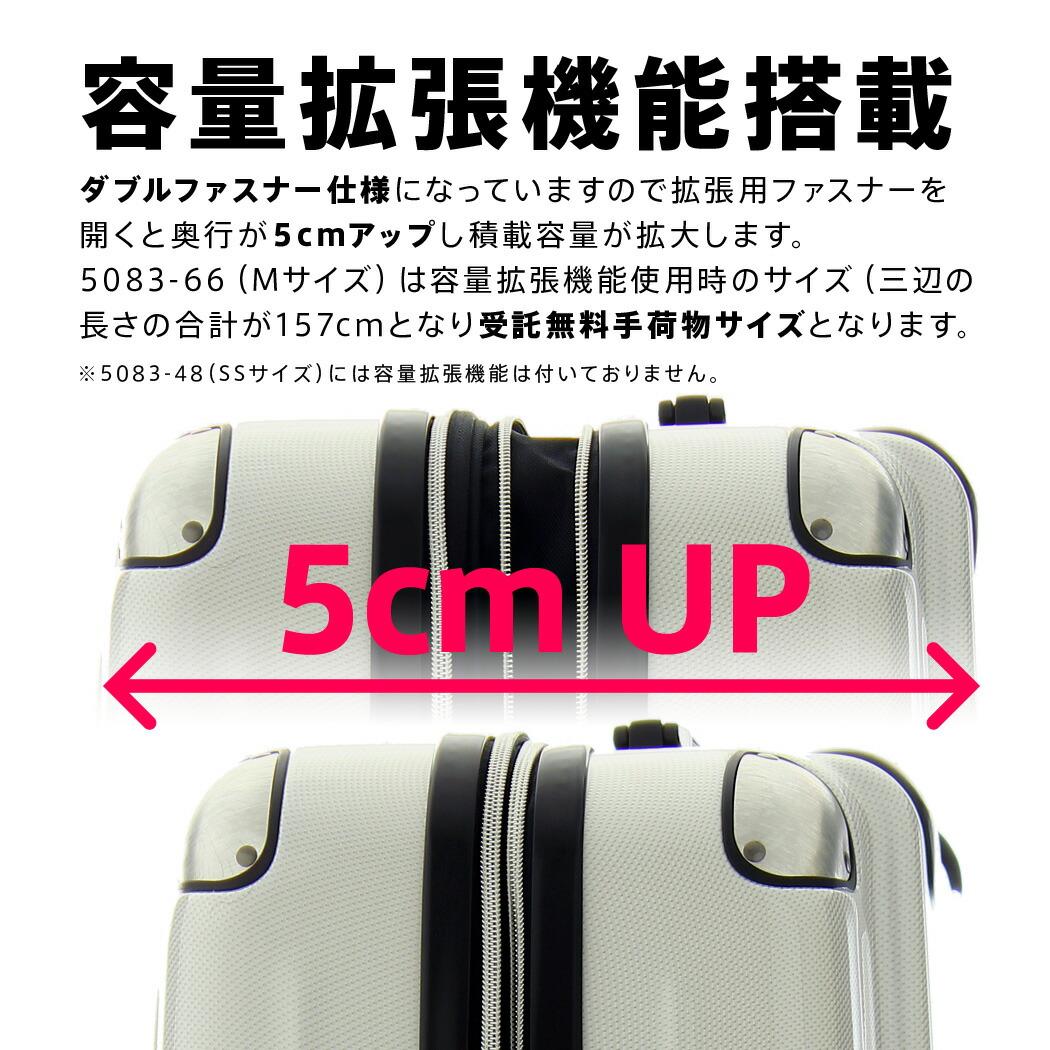 スーツケース 5083 拡張機能