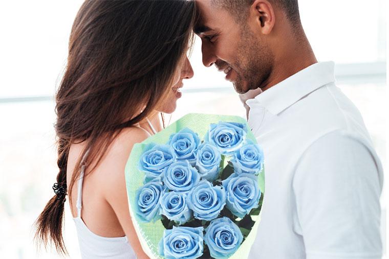 バラ12本の花束 プリザーブドフラワー
