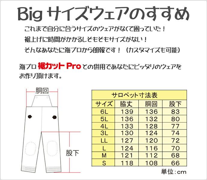 BIGサイズ説明