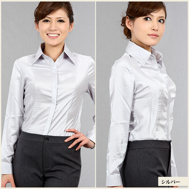 Cream Blouse With Bow