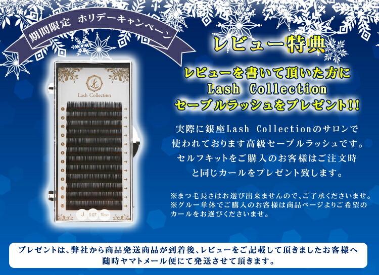 まつげエクステスターターキット 豪華14点セット Lash Collection アイラッシュサロン監修