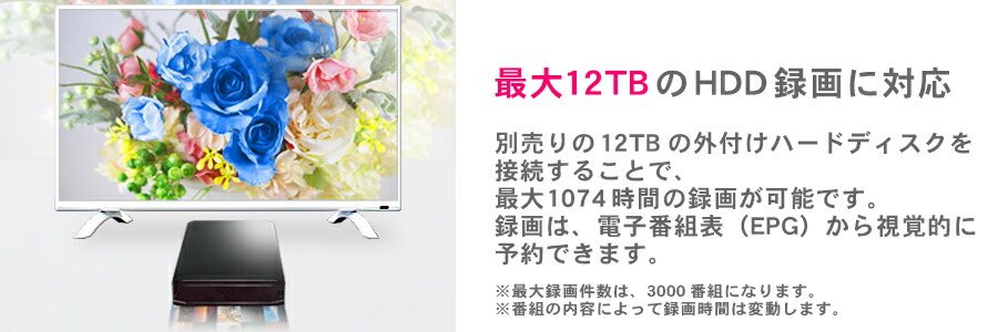 12TB対応