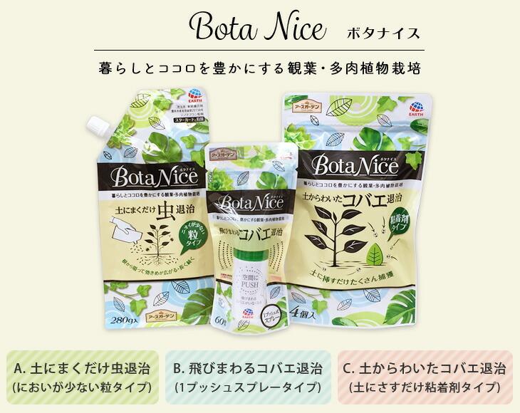 ボタナイス3種類