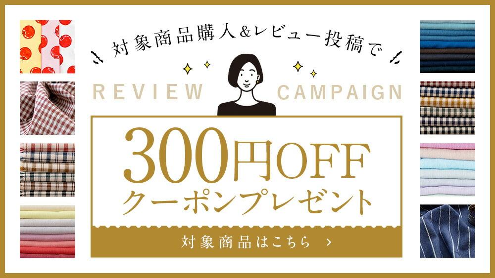レビューで300円OFFクーポン