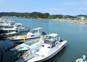 写真:阿久根の海