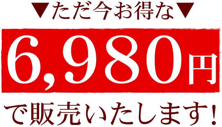 6980円!