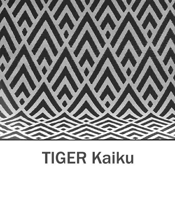 おしゃれな洗えるラグマット TIGER Kaiku