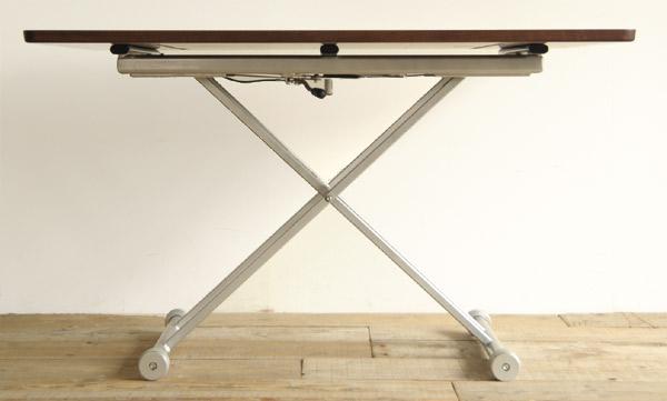 ダイニングテーブル 昇降式