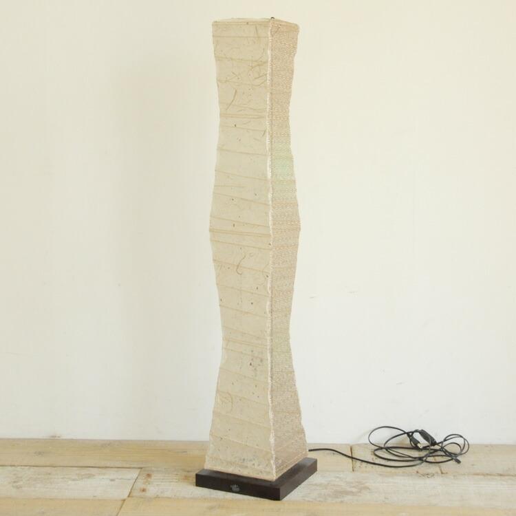 存在感のある美濃和紙を使ったデザイン照明