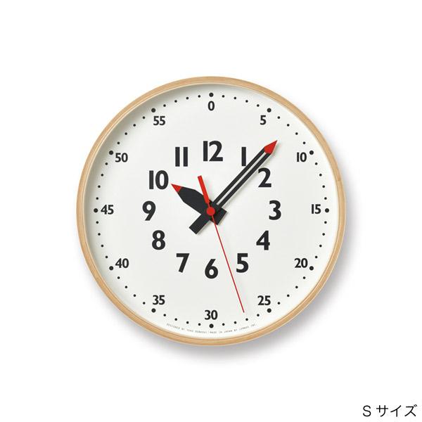 壁掛け時計 子供が見やすい時計 知育にもおすすめのふんぷんクロック Sサイズ