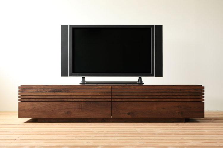 無垢材のテレビ台 テレビボード コレンテ
