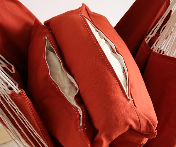 ハンモック部分はキャンバス生地(帆布)で出来ています