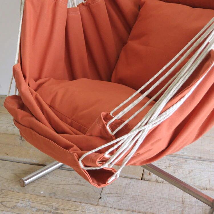 ハンモック オレンジの座面