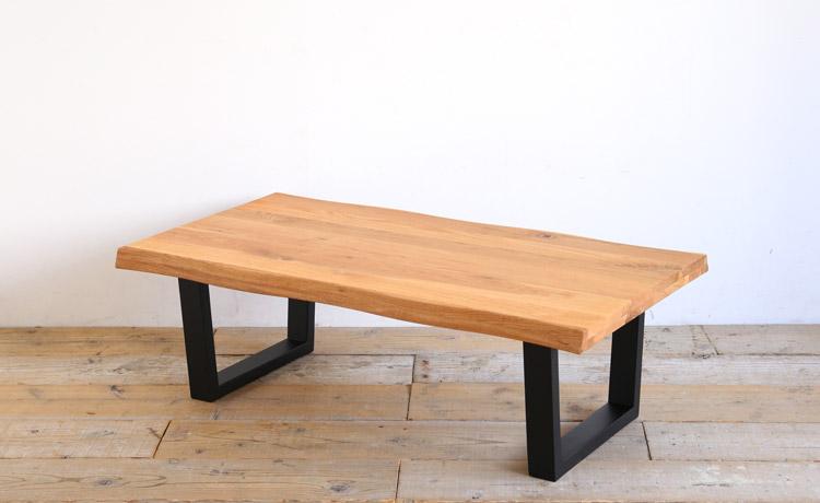 ローテーブル オーク