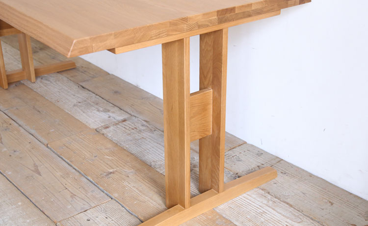ダイニングテーブル おしゃれ 低めも可能