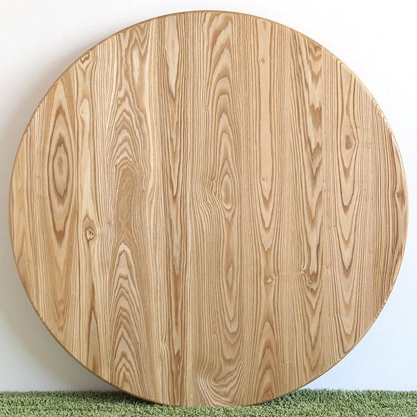 ユーロ 丸テーブル ホワイトオーク 無垢材