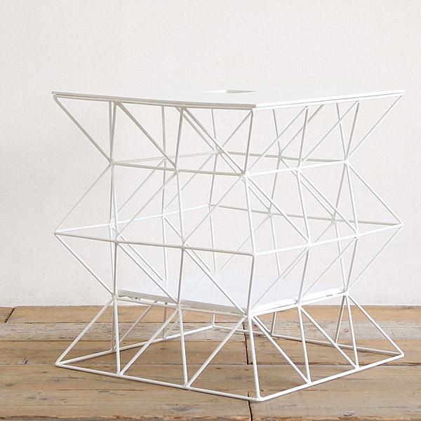 サイドテーブル ホワイト