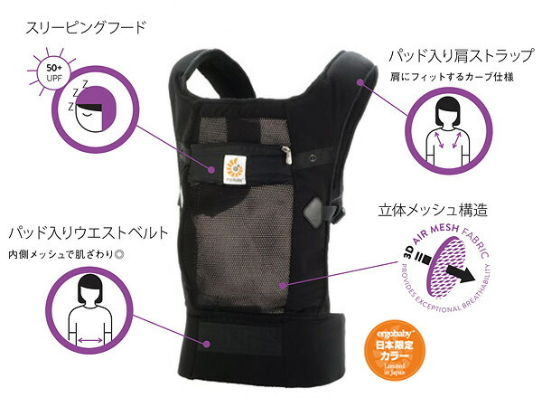 Buy Ergobaby Performance Ventus Baby Carrier