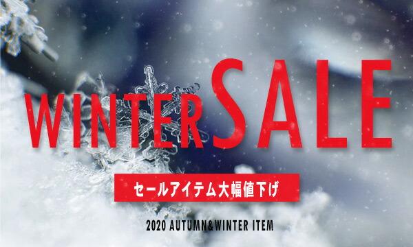 雪の結晶 WINTER SALEバナー