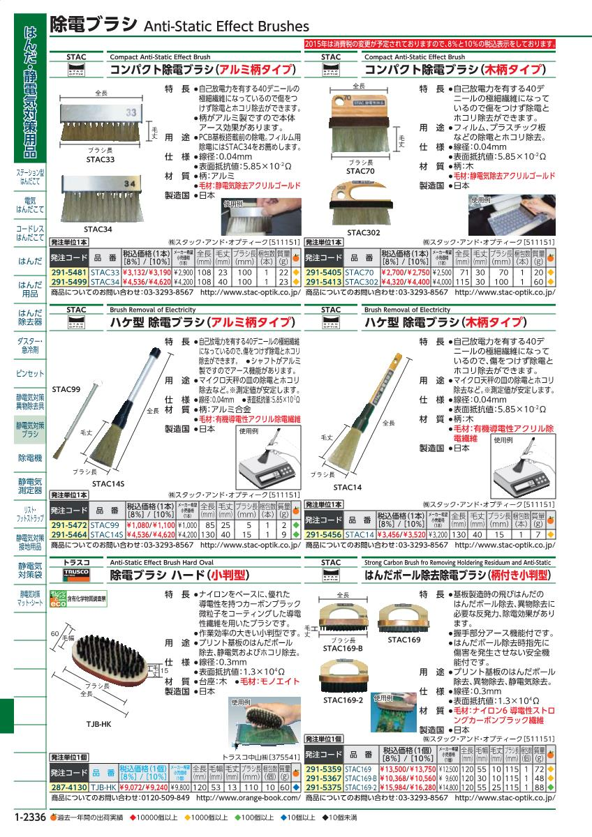Marunishi Online The Brush Sale Unit For Stack Static Printed Circuit Boards 2015 Orange Book 1 2336