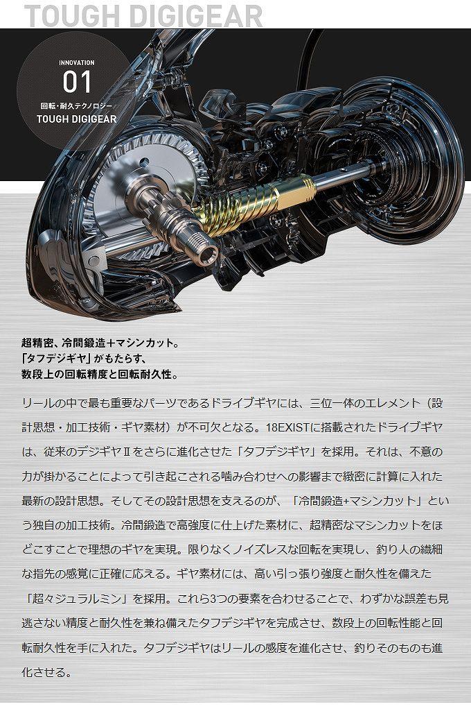 ダイワ EXIST(3)