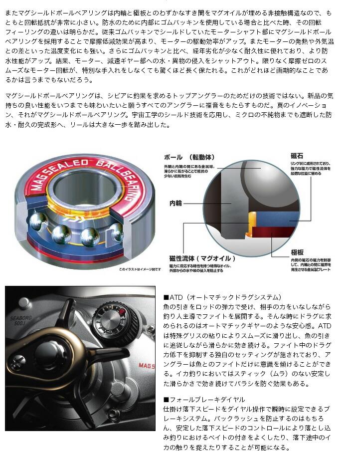 ダイワ シーボーグ500J-IKA TUNE (3)