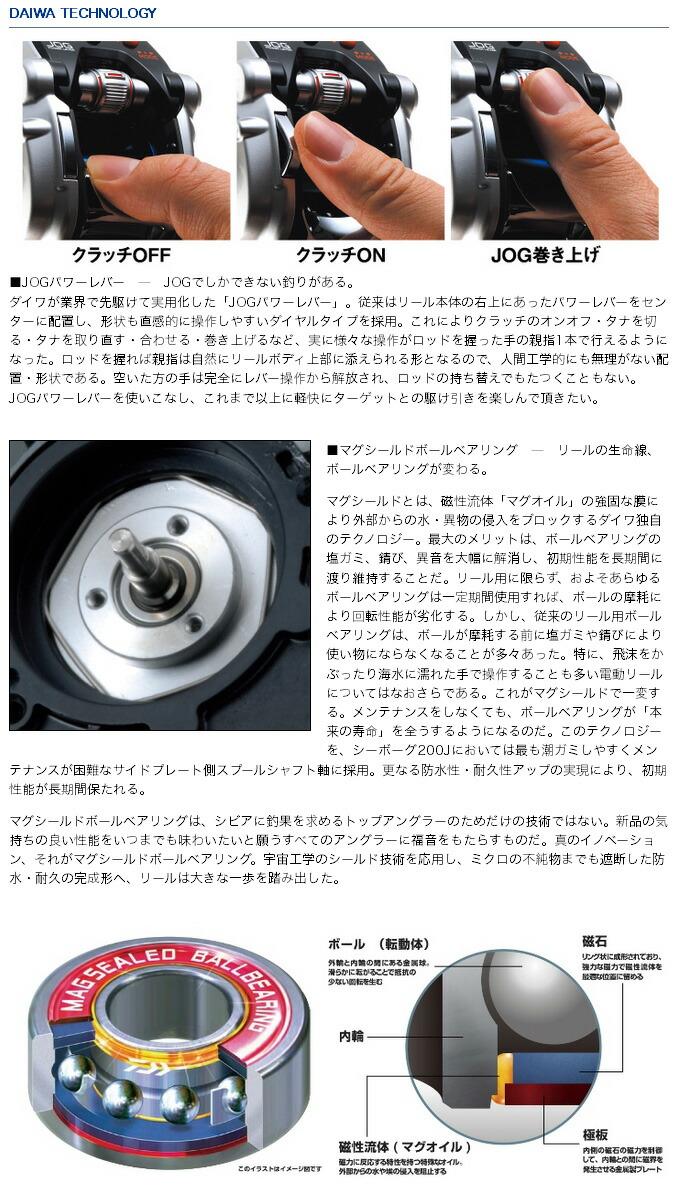 ダイワ シーボーグ200J/J-L (3)