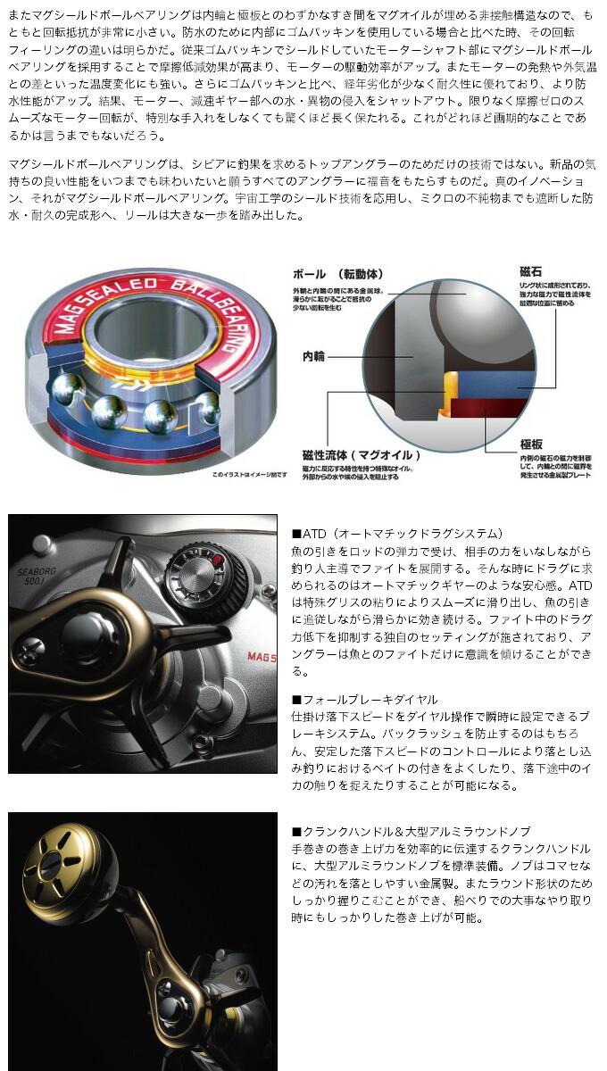 ダイワ シーボーグ500J (4)
