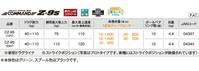 ミヤエポック コマンドZシリーズ CZ-9S(3)