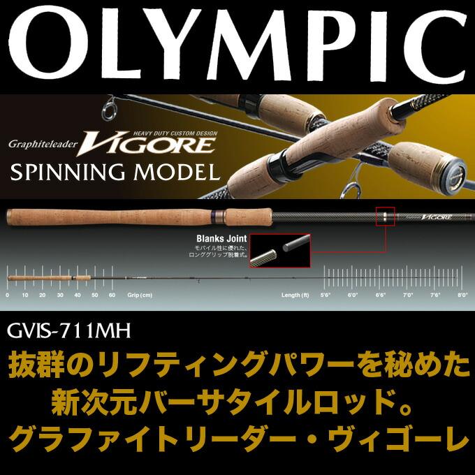 オリムピック・グラファイトリーダー ヴィゴーレ GVIS-711MH
