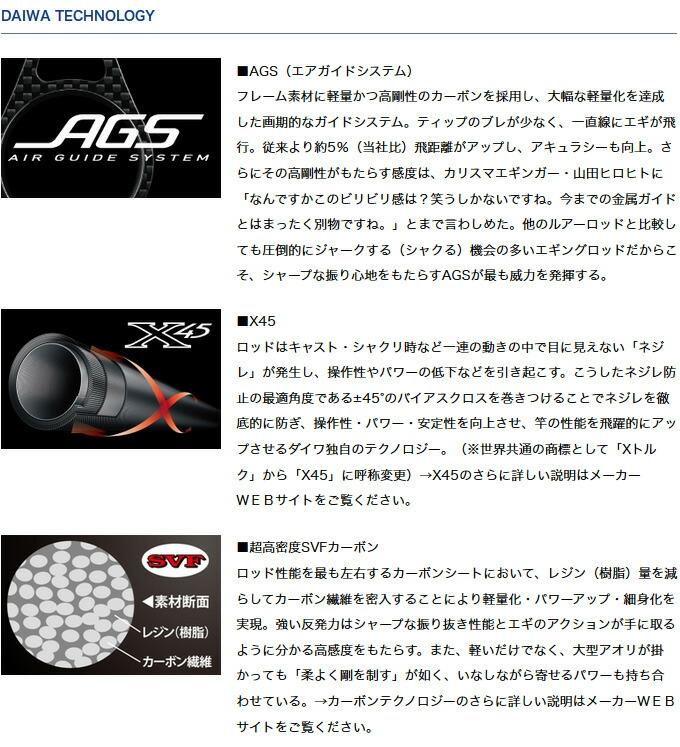 ダイワ エメラルダス AGS(アウトガイドモデル)(4)