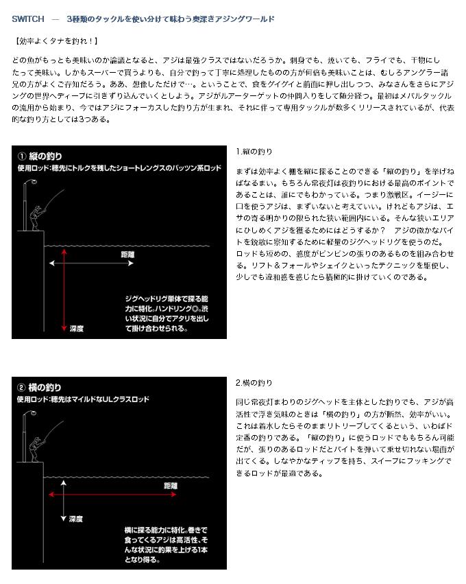 ダイワ 月下美人 AJING(4)