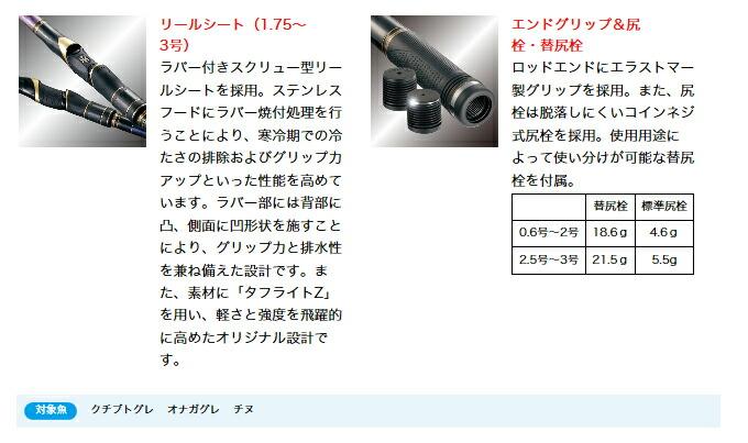 がまかつ/がま磯/インテッサG-V