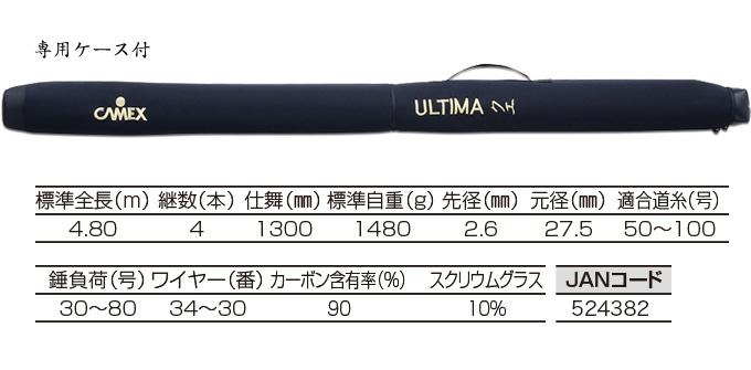 釣武者 キャメックス ULTIMA クエ 480MX-4(2)