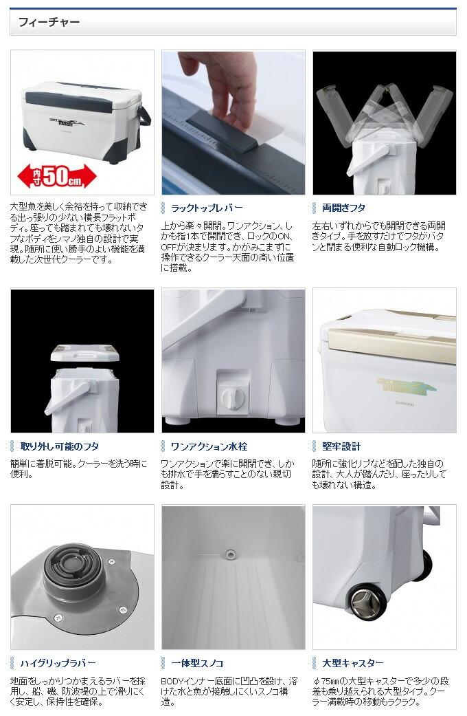 シマノ ピュアホワイト (Shimano) SPAZA BASIS 250 [スペーザ ベイシス] UC-125N キャスター付