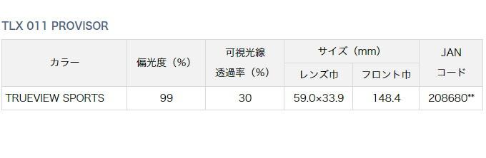 ダイワ TLX011 PROVISOR(2)