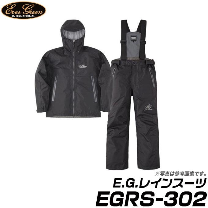 エバーグリーン E.G.レインスーツ EGRS-302 (BK)