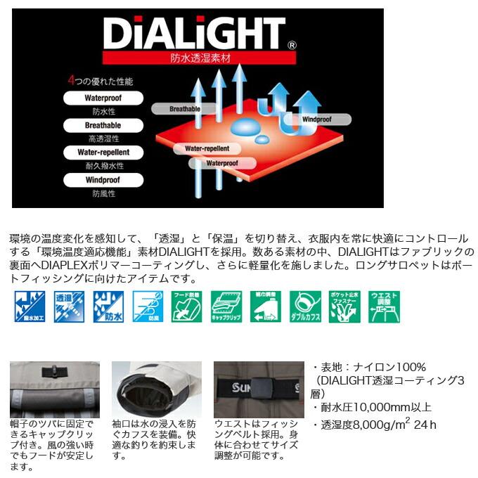 サンライン・ディアライトオールウェザースーツ SCW-6110