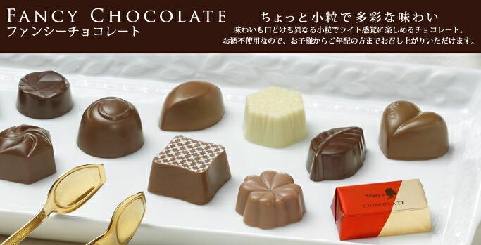 2018秋冬ファンシーチョコレート