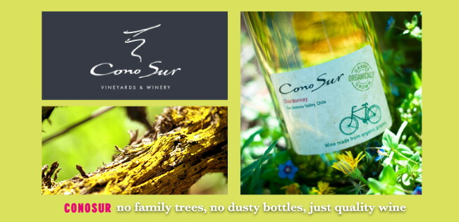 Conosur — no family trees, no dusty bottles, just quality wine