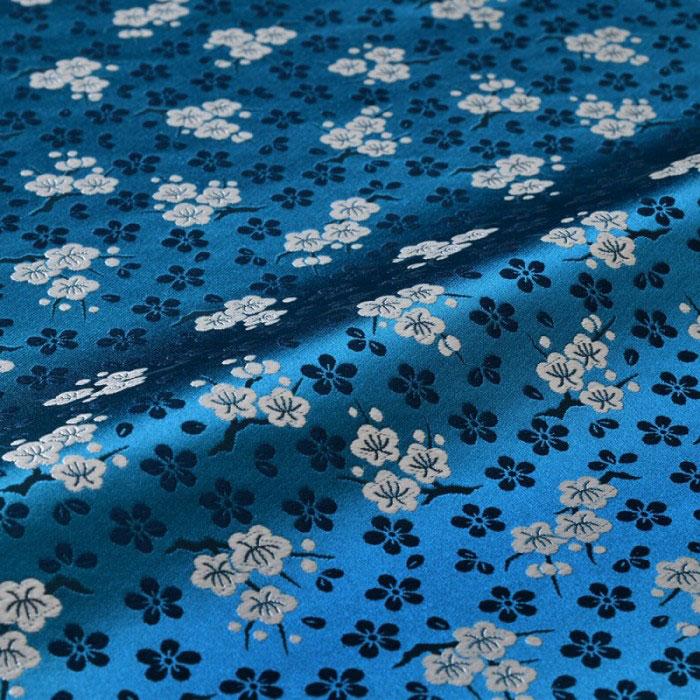 梅枝(青) 西陣織 正絹