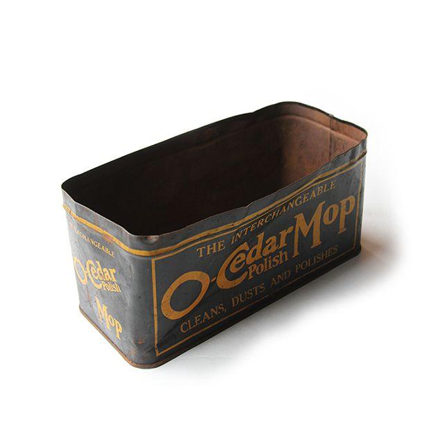 1900年代初頭のブリキ缶