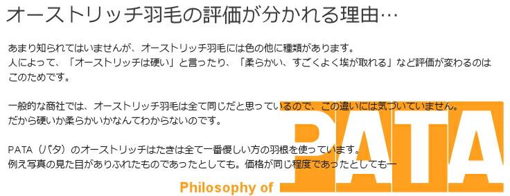 オーストリッチはたきPATA(パタ)の哲学