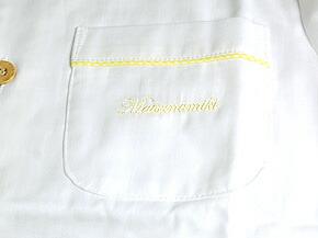 ポケット刺繍