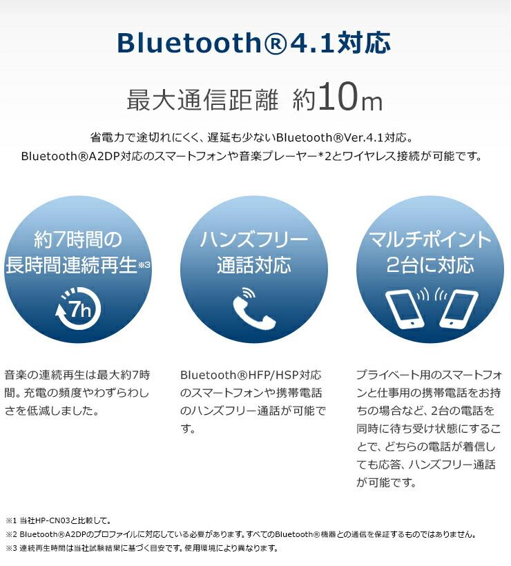 Bluetooth対応ワイヤレスカナル型ヘッドホン MXH-BTC110