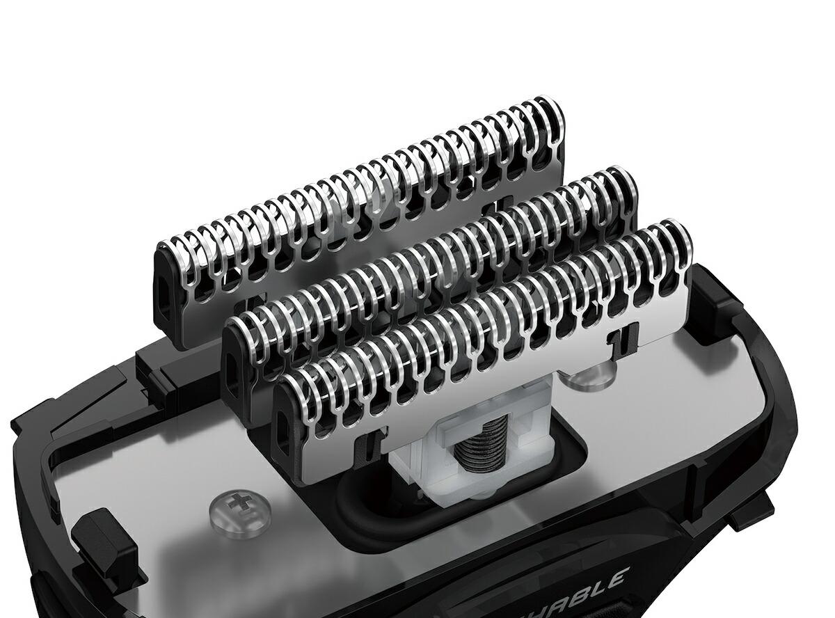 マクセル イズミ シェーバー S-DRIVE 4枚刃 往復式シェーバー IZF-V550-S