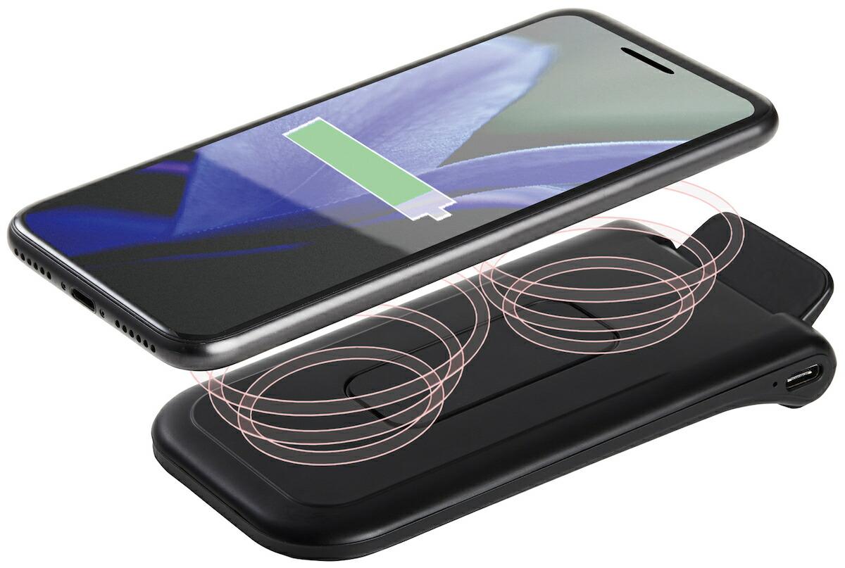 マクセル maxell 折りたたみ式 ワイヤレス充電器 WP-PD30