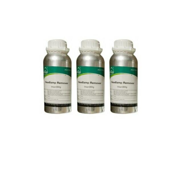 Allplace オールプレイス ヘッドライトスチーマー・ヘッドライトクリーナー専用溶剤3本